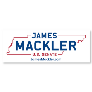 James Mackler Bumper Sticker
