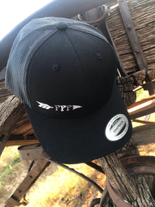Black & Grey PPP Ball Cap