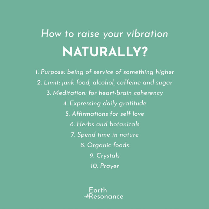 How to lift your vibration directly