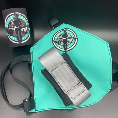 BB4X4 Teal Holster & Stubby Cooler Combo