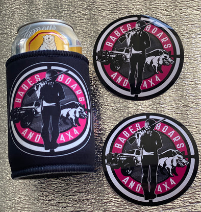 BABES BOARS & 4X4 STICKER & COOLER PACK