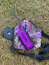BB4X4 GPS/UHF PURPLE HOLSTER
