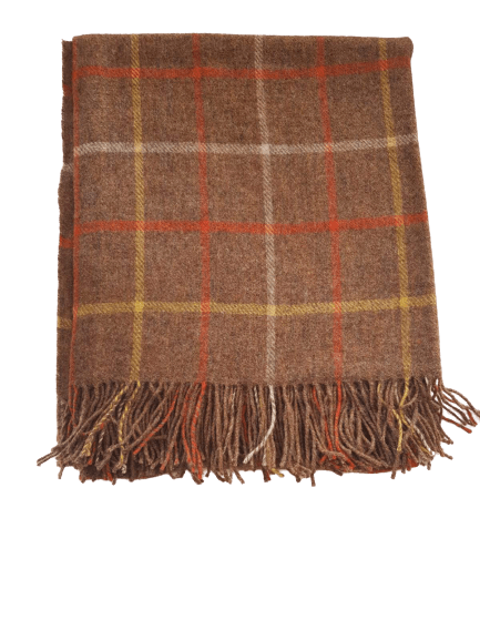 Made In Yorkshire 100% Lambswool Blanket - Pridesouvenirs