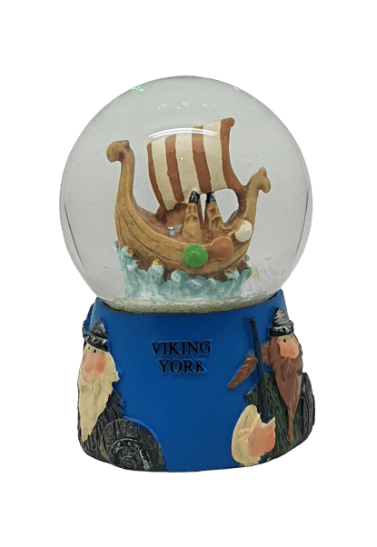 Snow Globe viking ship