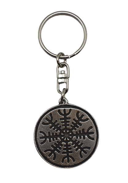 Pewter keyring Helm of Awe