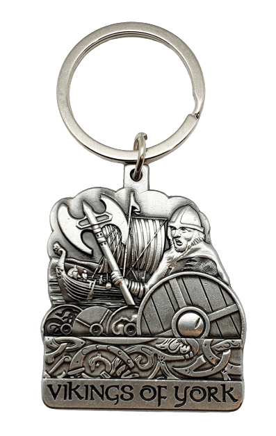 York Vikings Metal Keyring