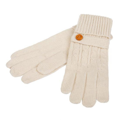 Womens Wool Blend Gloves -britishsouvenirs