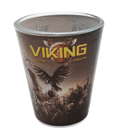 Shot glass York Viking God - Britishsouvenirs