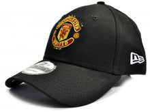 Load image into Gallery viewer, MAN UTD NEW ERA 9FORTY BLACK BASEBALL CAP - Pridesouvenirs