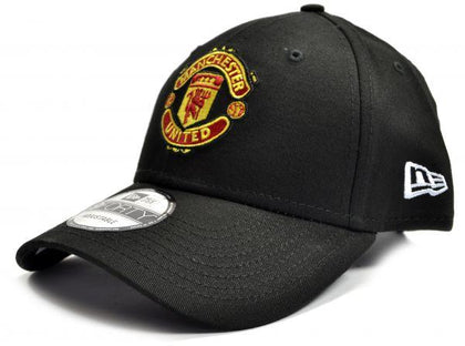 MAN UTD NEW ERA 9FORTY BLACK BASEBALL CAP - Pridesouvenirs