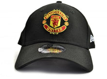 Load image into Gallery viewer, Manchester United New Era  9Forty Black Baseball  Cap