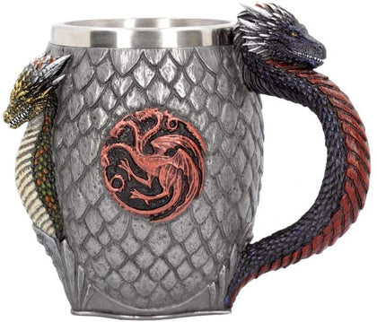 House Targaryen Tankard game of thrones 14cm - britishsouvenir