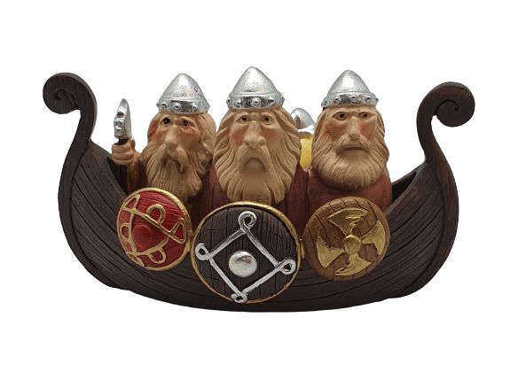 Resin Model Viking Ship