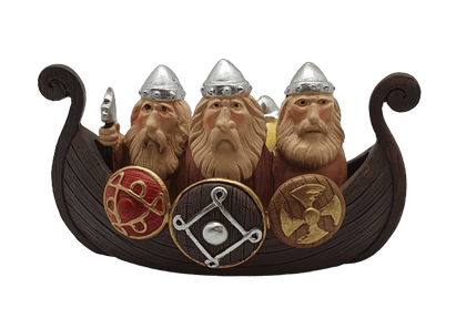 Resin Model Viking Ship - britishsouvenirs