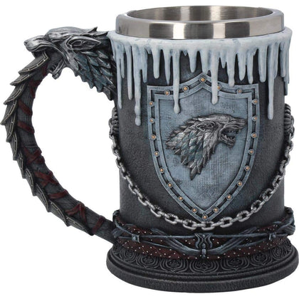 House Stark Tankard game of thrones 14.7cm - britishsouvenir