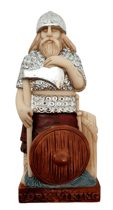York viking resin magnet figure