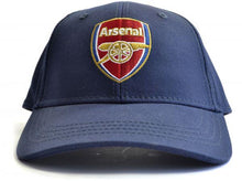 Load image into Gallery viewer, Arsenal Crest Baseball Cap- Navy blue
