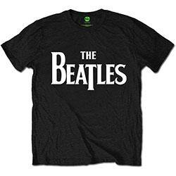 The Beatles Unisex Tee: Drop T Logo (Retail Pack)