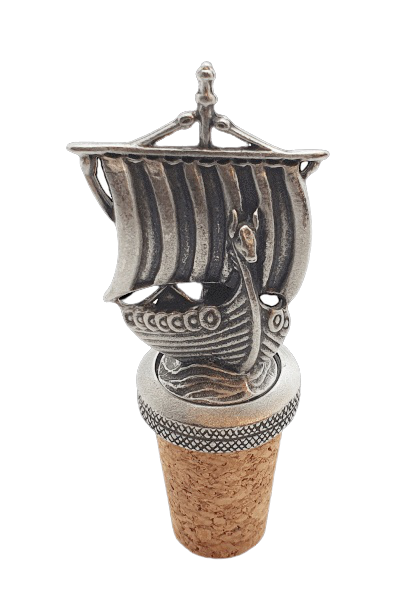 Bottle Stopper- Viking Ship