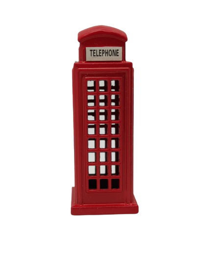 Mini Die Cast Telephone Booth
