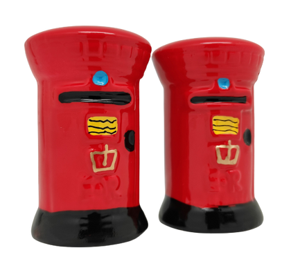 Post Box Cruet Set