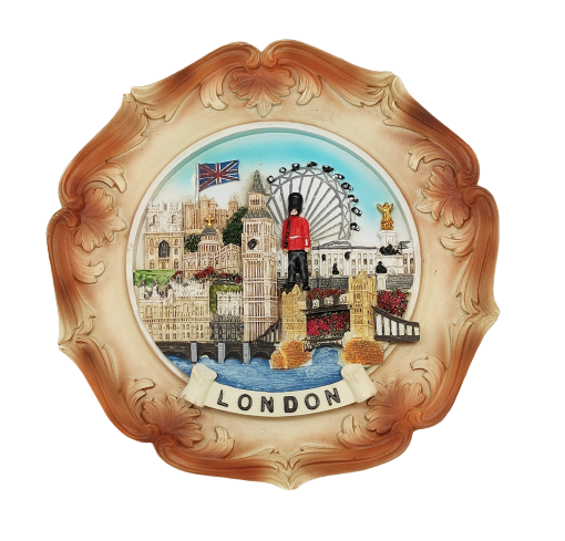 Resin Plate Medium - London