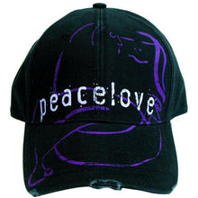 Load image into Gallery viewer, John Lennon Unisex Baseball Cap : Peace & Love - britishsouvenirs