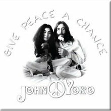 Load image into Gallery viewer, John Lennon Fridge Magnet: Peace