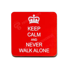 Load image into Gallery viewer, Liverpool Never Walk Alone 4 Coaster Set