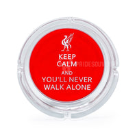 Liverpool Glass Ashtray Keep Calm