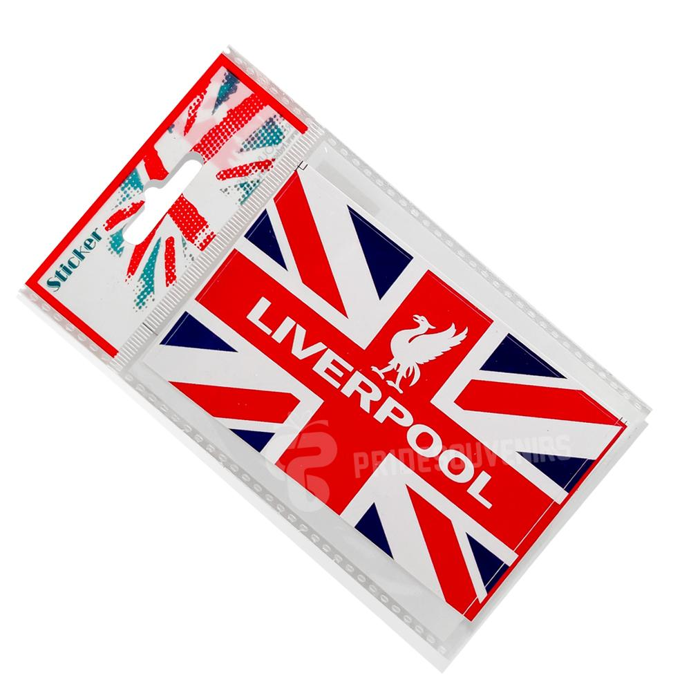 Liverpool Sticker - Union Jack