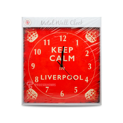 Liverpool Keep Calm Wall Clock