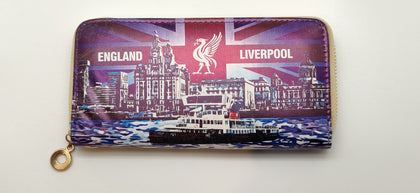 Liverpool Icon Ladies Wallet- Blue Colour