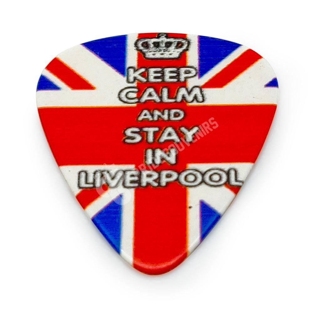 Liverpool Plectrum - Keep Calm And Stay in Liverpool