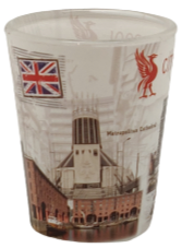 Liverpool Transparent Icons Shot Glass