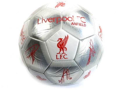 LIVERPOOL SIGNATURE FOOTBALL - Pridesouvenirs