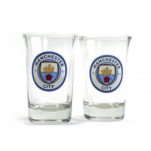 Load image into Gallery viewer, Manchester City Two Pack Shot Glasses