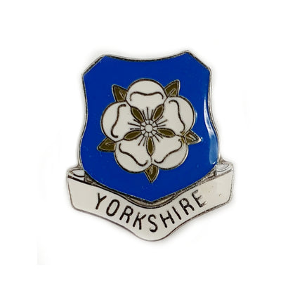 Pin Badge Yorkshire rose