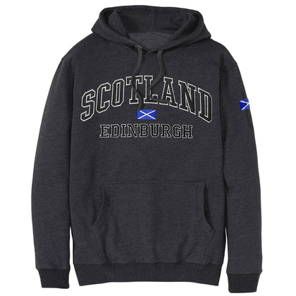 Charcoal Black Scotland Pullover