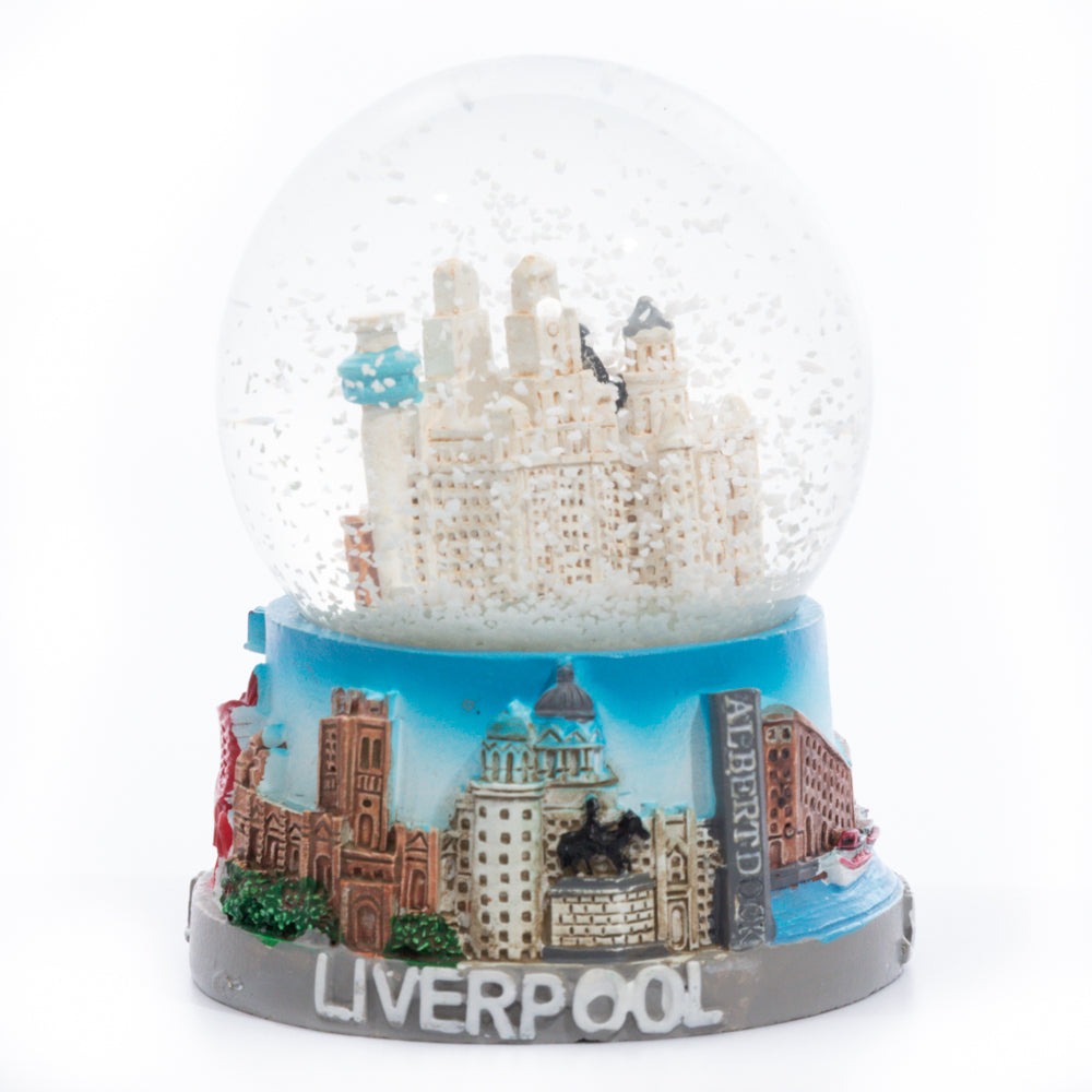 Liverpool Building Snow Globe -Small