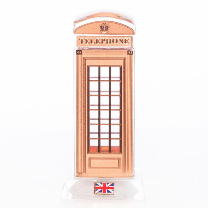 Crystal Telephone Booth 9 cm