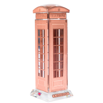 Crystal Telephone Booth 16cm