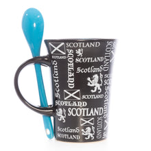 Load image into Gallery viewer, Spoon Mug - Scotland Lion