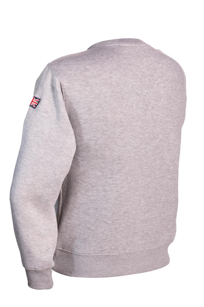 Sweatshirt York England Grey-Pink pullover Youth