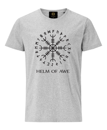 Helm of Awe T-Shirt- Grey - Britishsouvenirs