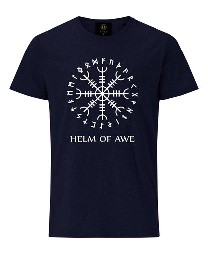Helm of Awe T-Shirt- Navy - Pridesouvenirs