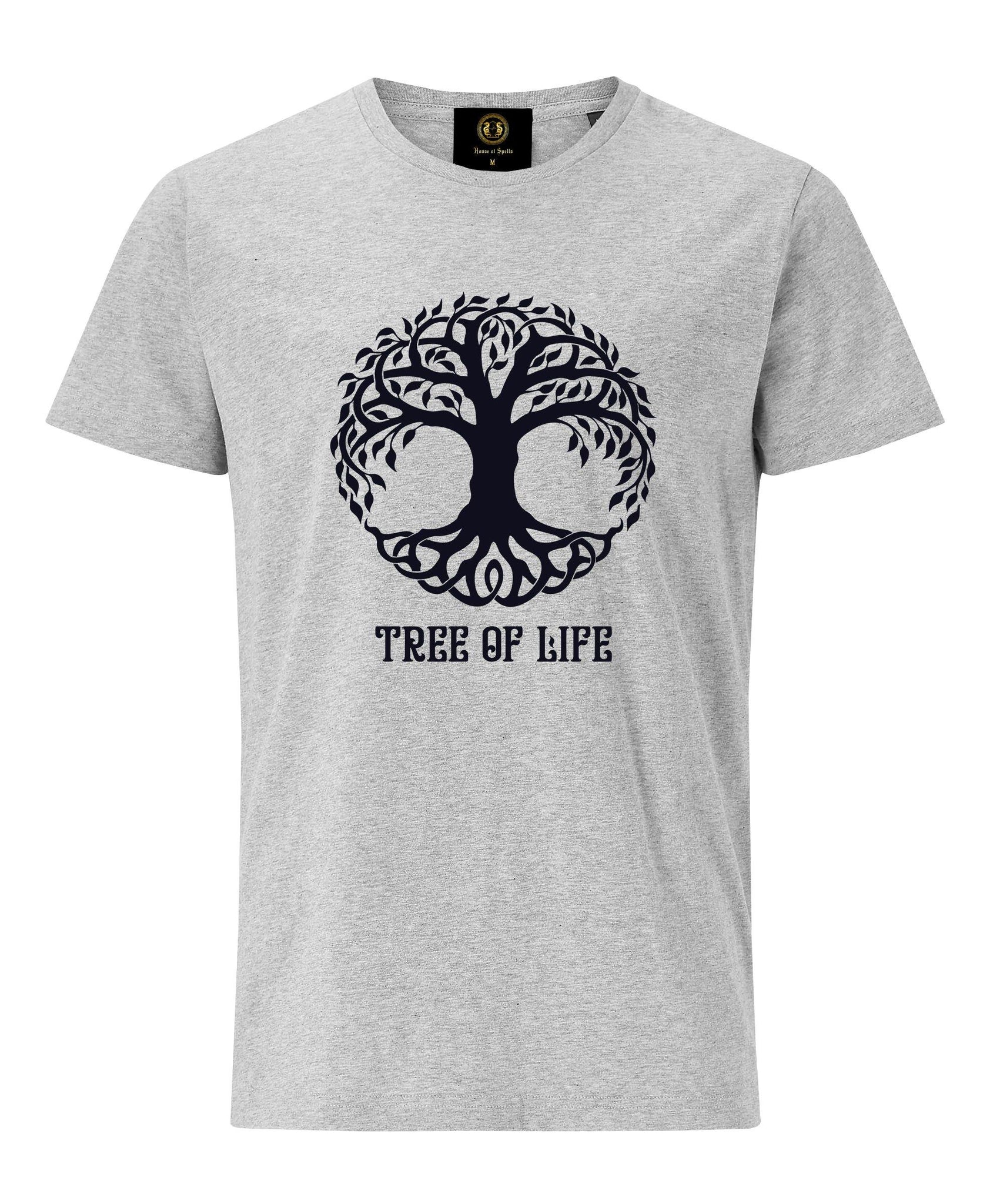 Tree of Life T-Shirt- Grey