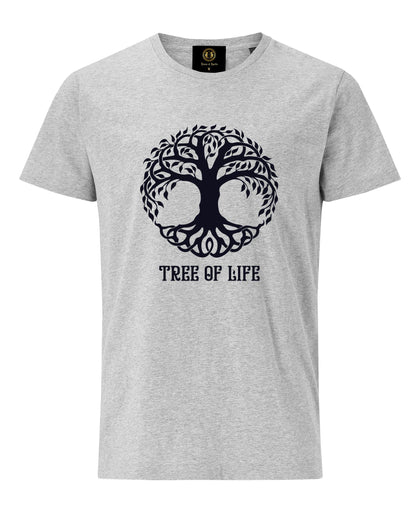 Tree of Life T-Shirt- Grey - Britishsouvenirs