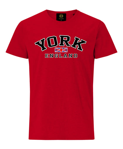 York England T-shirt - Red