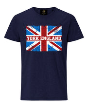 Load image into Gallery viewer, York England UJ T-shirt - Navy